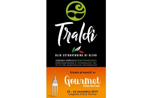 Olio Traldi di Francesca Boni protagonista al Gourmet Food Festival di Torino