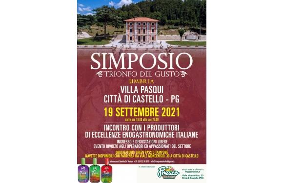 Olio Traldi di Francesca Boni a Simposio: il trionfo del Gusto 2021 a Città di Castello