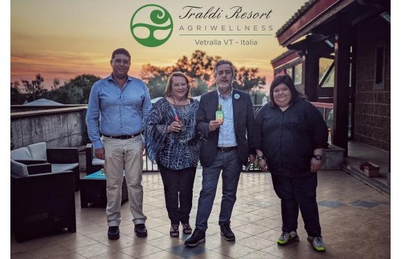 Il Sottosegretario all'Agricoltura Francesco Battistoni visita il Traldi Resort ed elogia Olio Traldi