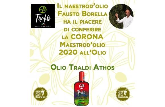 Olio Traldi Athos di Francesca Boni vince la Corona di Maestro d'Olio 2020