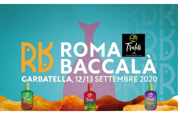 """Olio Traldi di Francesca Boni al """"Roma Baccalà"""" a Garbatella il 12 e 13 settembre 2020"""