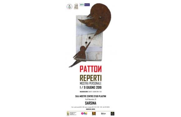 Olio Traldi di Francesca Boni sponsor della Mostra del Pittore Patton a Sarsina (Forlì-Cesena)